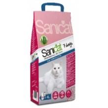 Sanicat Aloe Vera 7 Days наполнитель для кошачьего туалета алоэ вера