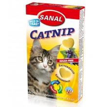 Sanal Catnip мультивитаминное лакомство с кошачьей мятой для кошек котов котят