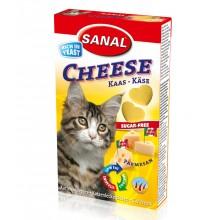 Sanal Cheese мультивитаминное лакомство с сыром для кошек котов котят