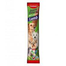 Мягкие колбаски SANAL Soft Stick Lamb с ягненком для собак