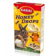 Лакомство дропсы Sanal Honey Drops с медом для грызунов