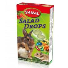 Лакомство дропсы Sanal Salad Drops с овощами для грызунов