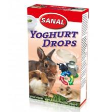 Sanal Yoghurt Drops дропсы с йогуртом лакомство для грызунов
