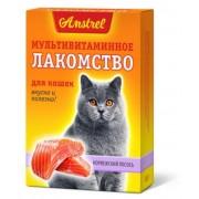 Amstrel мультивитаминное лакомство для кошек. Норвежский лосось (90 шт.)