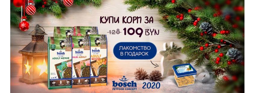 Акция Бош на корма 15 кг для собак
