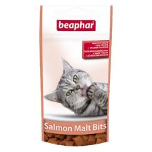 Beaphar Malt Bits With Salmon подушечки для выведения шерсти из желудка с лососем