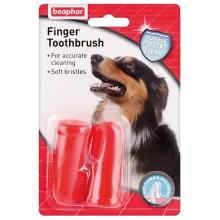 Beaphar Finger Toothbrush зубная щетка на палец для собак и кошек