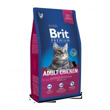 Сухой корм Brit Premium Adult для взрослых кошек