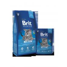 Сухой корм Brit Premium Kitten для котят
