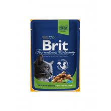 Паучи Brit Premium Sterilised для стерилизованных кошек и котов