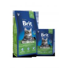 Сухой корм Brit Premium Sterilised для стерилизованных кошек и котов