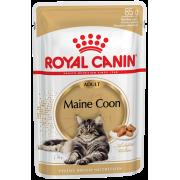 Паучи Royal Canin Maine Coon Adult для взрослых кошек породы мейн кун