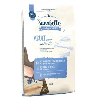 Сухой корм Sanabelle Adult для взрослых кошек с форелью