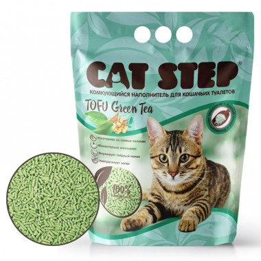 Cat Step Tofu Green Tea (Кэт Степ Тофу Зелёный Чай)