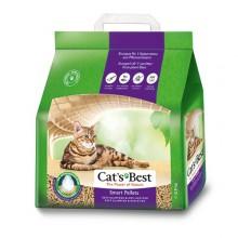 Cat's Best Smart Pellets древесный наполнитель для кошачьего туалета