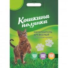 Древесный наполнитель Кошкина полянка