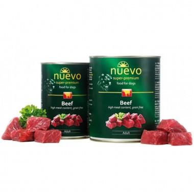 Nuevo (нуэво)   консервы для собак с говядиной купить минск