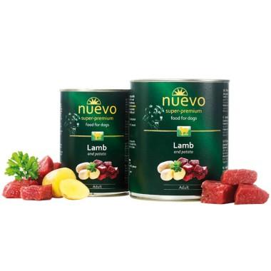 Nuevo (нуэво) консервы для собак с ягненком и картофелем купить Минск