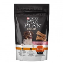 Лакомство PRO PLAN Biscuits бисквит для собак с лососем и рисом