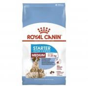 Сухой корм Royal Canin Medium Starter для щенков до 2 месяцев средних размеров