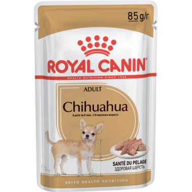 Паучи Royal Canin Chihuahua Adult для взрослых собак породы чихуахуа