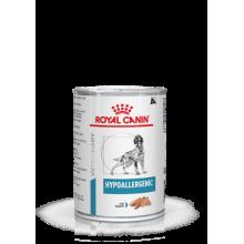 Консервы Royal Canin HYPOALLERGENIC для собак при пищевой аллергии или непереносимости