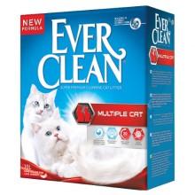 Наполнители Ever Clean Multiple Cat комкующийский для нескольких кошек