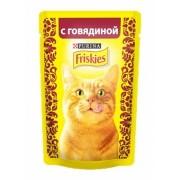 Паучи Friskies Adult кусочки в подливе для взрослых кошек