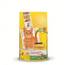 Сухой корм FRISKIES Sterilised для стерилизованных кошек с кроликом и овощами