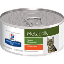 Консервы Hill's Prescription Diet Feline Metabolic диетический корм для кошек страдающих ожирением