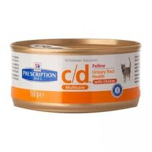 Консервы Hill's Prescription Diet Feline c/d поддерживает здоровье мочевыводящих путей для кошек