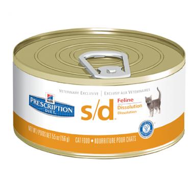 Консервы Hill's Prescription Diet Feline s/d при мочекаменных болезнях для кошек