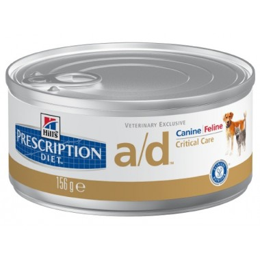 Консервы Hill's Prescription Diet Canine/Feline a/d для взрослых котов и собак в период выздоровление