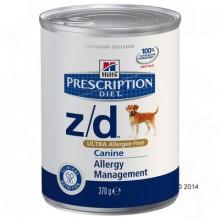 Консервы Hill's  Prescription Diet Feline z/d для собак с пищевой непереносимостью и пищевой аллергией