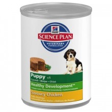 Консервы Hills Science Plan Puppy Savoury Chicken для щенков со вкусом курицы