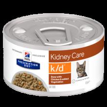 Консервы Hill's  Prescription Diet Feline k/d для кошек постоянно страдающих заболеваниями почек
