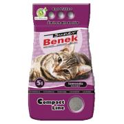 Наполнитель Super Benek Compact Lawanda для кошек