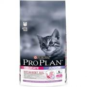 Сухой корм PRO PLAN Junior Delicate для котят с чувствительным пищеварением