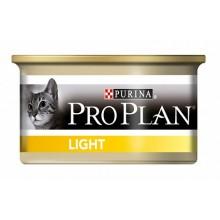 Консервы PRO PLAN Light для кошек, низкокалорийные