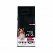 Сухой корм PRO PLAN Medium Adult Sensitive Skin для взрослых собак средних пород с чувствительной кожей, с лососем и рисом