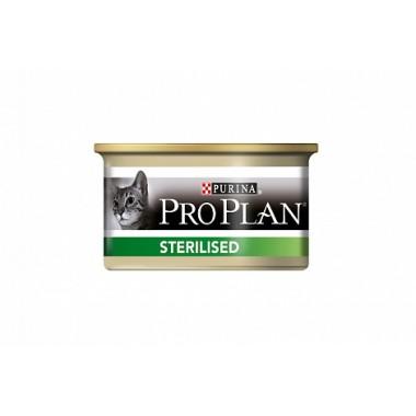 Консервы PRO PLAN Sterilised для кастрированных и стерилизованных кошек