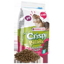 Versele-Laga Crispy Pellets Chinchillas & Degus полнорационный корм для шиншилл и дегу