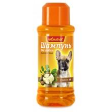 Амстрель шампунь для собак гладкошерстных с маслом ши