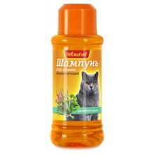 Амстрель шампунь для кошек кондиционирующий с целебными травами