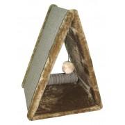 Cat House когтеточка треугольник циновка