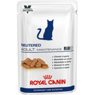 Паучи Royal Canin NEUTERED ADULT MAINTENANCE для кастрированных / стерилизованных котов и кошек