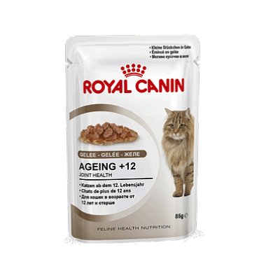 Паучи Royal Canin Ageing +12 для кошек старше 12 лет