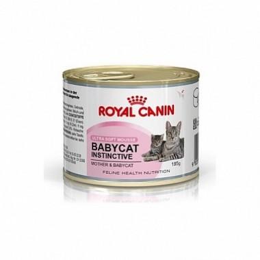 Консервы Royal Canin Babycat Instinctive мусс для котят до 4 мес