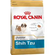 Сухой корм Royal Canin Shin Tzu Junior для щенков породы Ши-Тцу