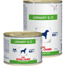 Консервы Royal Canin URINARY S/O для собак при заболеваниях дистального отдела мочевыделительной системы